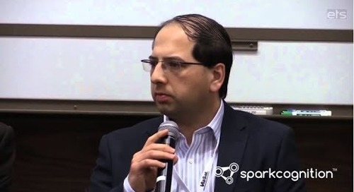 SparkCognition's Amir Husain at ETS15