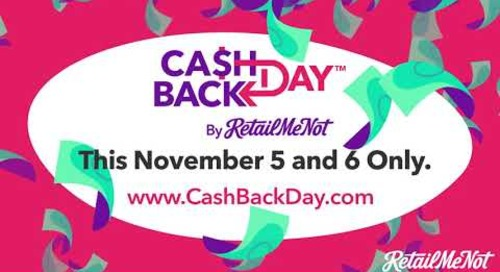 Cash Back Day at RetailMeNot