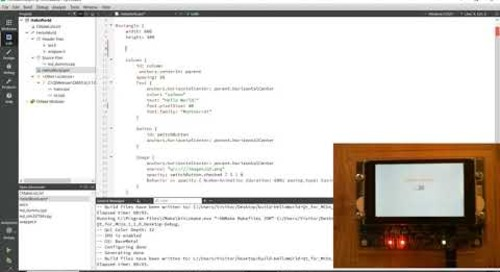 [FR] Qt for MCUs; Intégration de code C/C++ avec le QML