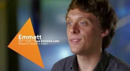 Meet 3M™ VHB™ Tape Extreme Labs intern Emmett