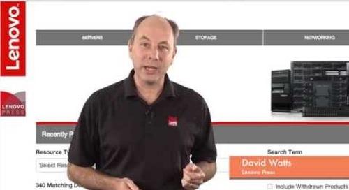 Introducing the new Lenovo Press web site