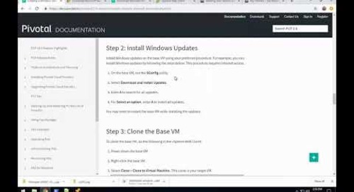 Windows Stemcell Step 2 : Windows Updates