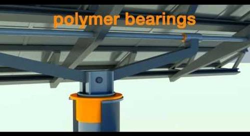 Bearings for solar technology