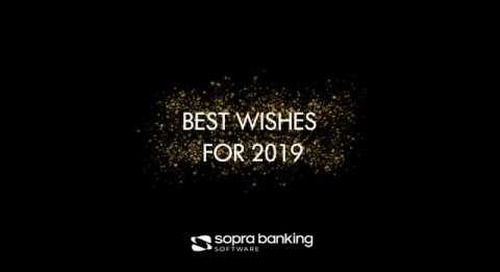 Sopra Banking Software - Best Wishes for 2019