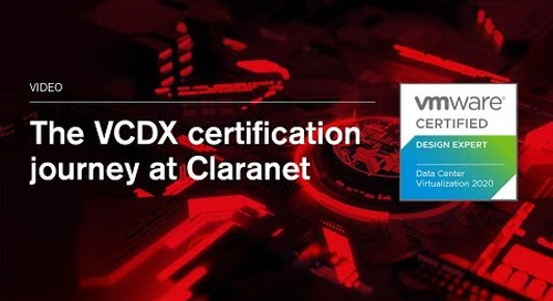 VCDX: the pinnacle of VMware's certifications