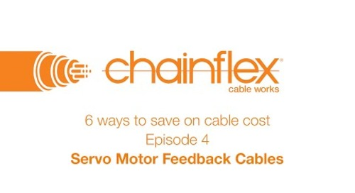 6 ways to save on cable cost - Episode 4 - Servo Motor Feedback Cables