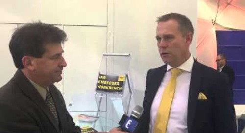 Embedded World 2015 – Stefan Skarin, IAR Systems