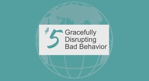 Gracefully Disrupting Bad Behavior