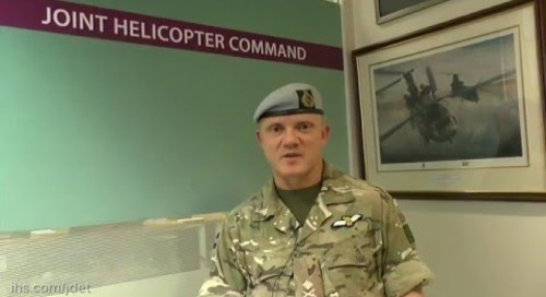 Joint Helicopter Command (JHC) outlines its capability developments and what they bring to UK defenc