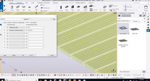 Tekla Structures Floor Tool for Precasters