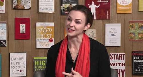 Leena Rinne explains The 5 Choices to Extraordinary Productivity