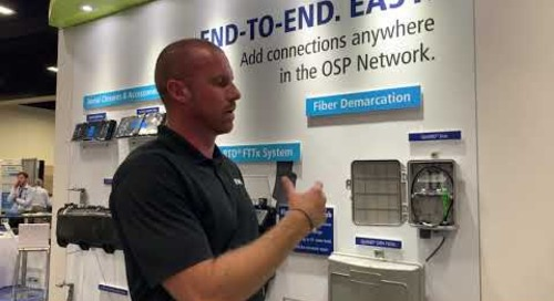Will is talking FTTH at ISE Expo 2019