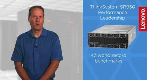 Lenovo ThinkSystem SR950 Performance Leadership