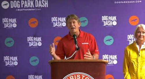 Dog Park Dash Check Presentation