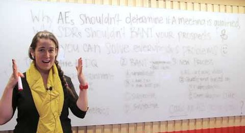 Why AEs Shouldn't Determine if a Meeting is Qualified (ft. Becc Holland)
