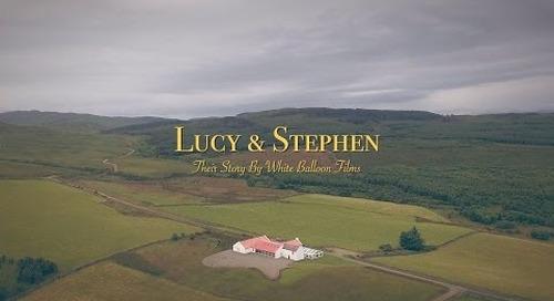 Crear Weddings | Phantom 4 Drone Wedding Video | White Balloon Films