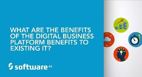 What are Digital Business Platform benefits to existing IT?
