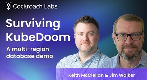 Demoing a Multi-Cluster Database Using KubeDoom | What is KubeDoom?