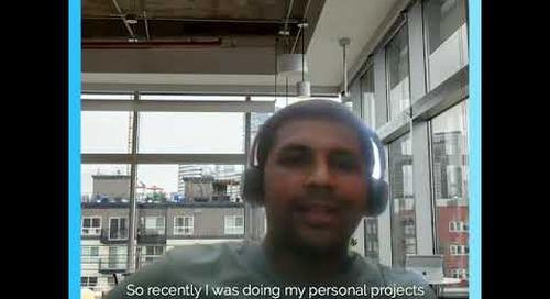 #SuperGeek Arunveer, from India