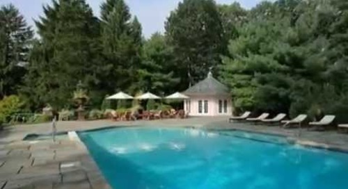 SOLD, Video of Elegant European-style Manor Bernardsville NJ - Real Estate Homes for Sale