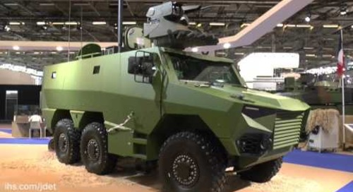 Eurosatory 2016 Griffon  The French Army's future wheeled armoured personnel carrier