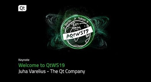 Intro to Qt World Summit 2019 - The ultimate Qt gathering
