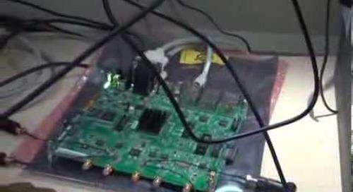 Broadcom FDD integration with 8 UEs
