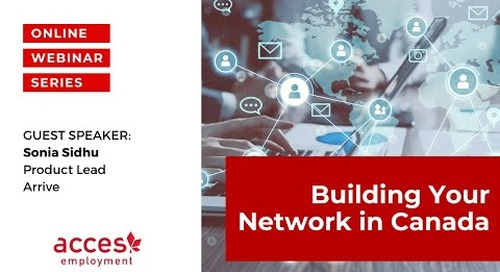 Building your Network in Canada