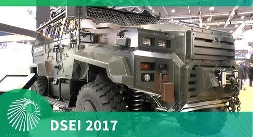 DSEI 2017: EJDER YALCIN 4x4 by Nurol Makina
