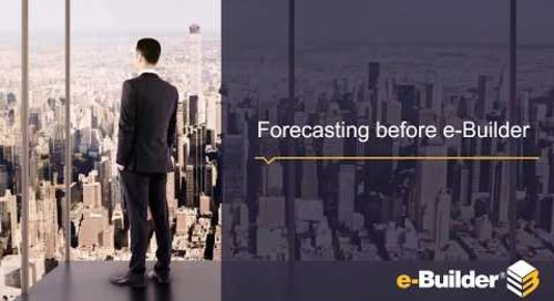 Eliminate Unpleasant Surprises in Project Forecasting