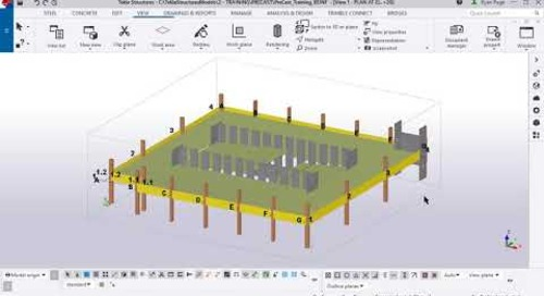 Tekla Structures GA Drawings for Precasters