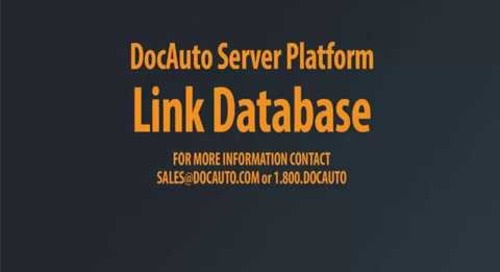DocAuto Server - Link Database