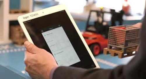 Supply Chain Visibility with Traceability of Sensitive Goods (Forklift)