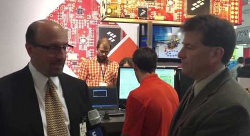 Embedded World 2015 – Ronald Martino, Freescale Semiconductor