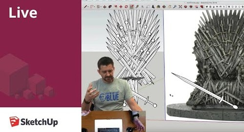 3D Modeling the Iron Throne