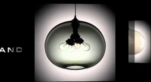 Niche Modern Hand Blown Terra Pendant Lights