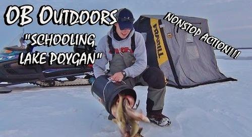 """CRAZY Lake Poygan Ice Fishing - Episode: 2.1 """"Schooling Lake Poygan"""""""