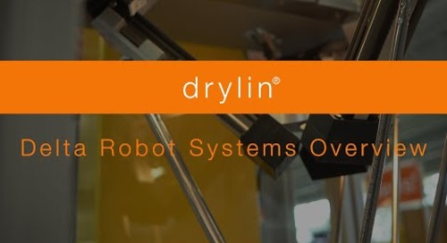 Overview - drylin® Delta Robot Systems