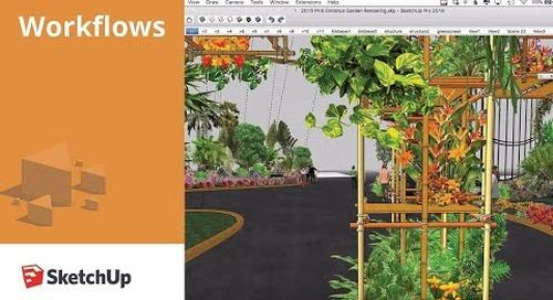 Exhibit Design: Philadelphia Flower Show Workflow