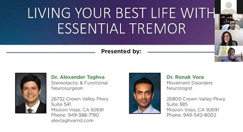 Living your best life with essential tremor