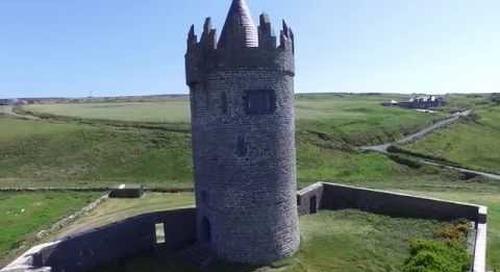 Beautiful Aerial Ireland footage DJI Phantom 3 Video Quality Test 4K Professional