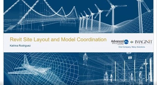 Revit Site Layout and Model Coordination