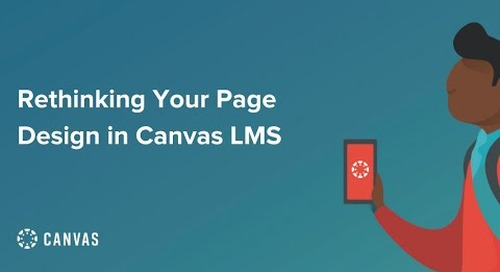 Page Design in Canvas LMS