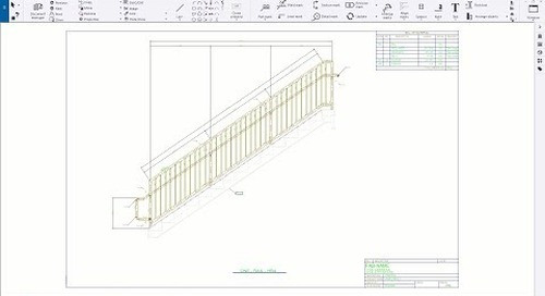 Hidden Neighbor Parts on Drawings in Tekla Structures
