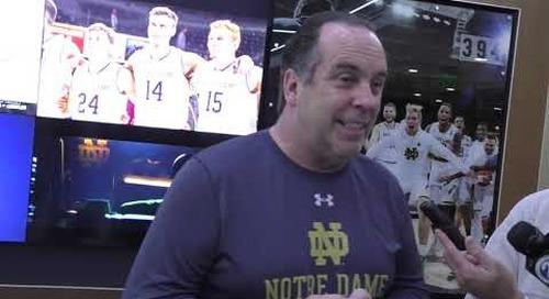 Notre Dame Head Men's Basketball Coach Mike Brey Nov. 11 Press Conference
