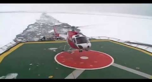 Kapitan Khlebnikov Helicopters