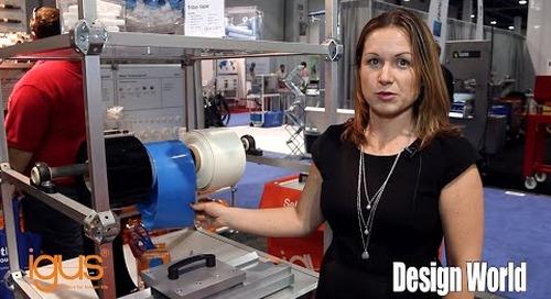 Introducing igus tribo-tape and xiros bearings at PACK EXPO