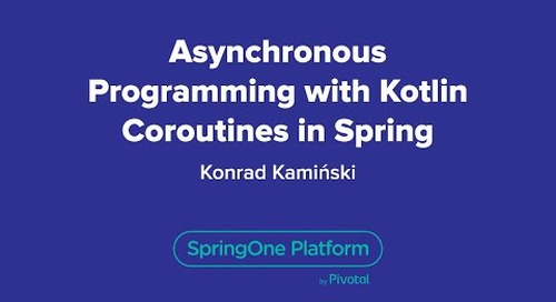 Asynchronous Programming with Kotlin Coroutines in Spring