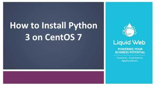 How To Install Python3 On CentOS 7