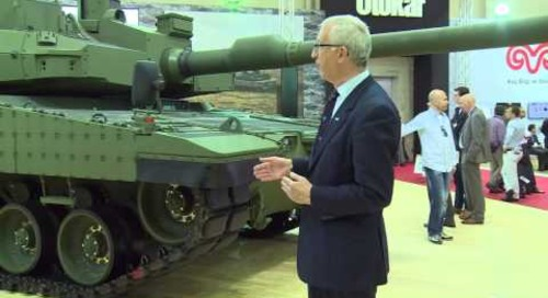 IDEF 2015: The final prototype of the Otokar Altay main battle tank